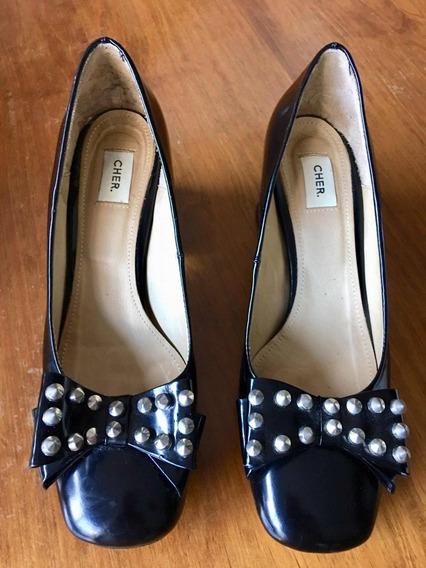 Zapatos Cuero María Cher Modelo Krieger Impecables