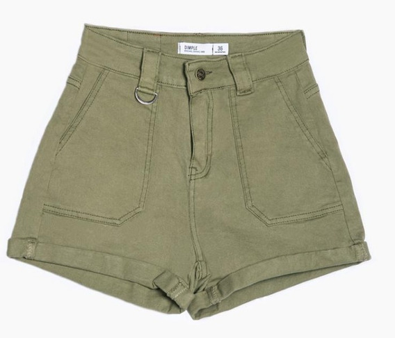 Short Donatella Denim Verde