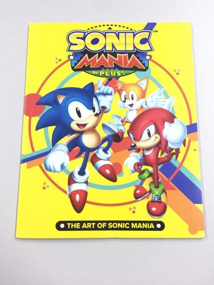 Sonic Mania Plus Artbook Nintendo Switch Barato
