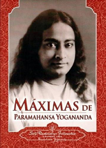 Imagen 1 de 1 de Maximas Yogananda - Rústica