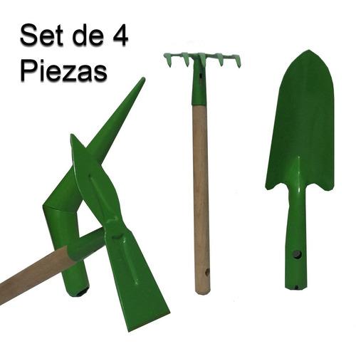 Set De Jardineria De 4 Piezas