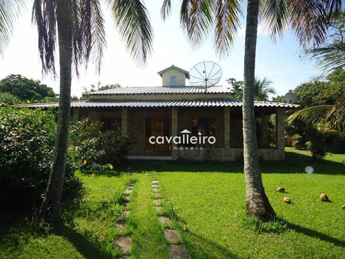 Chácara Residencial À Venda, Condado De Maricá, Maricá. - Ch0030