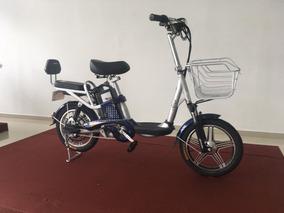 Bike Eletrica Aima Cor Azul E Branca