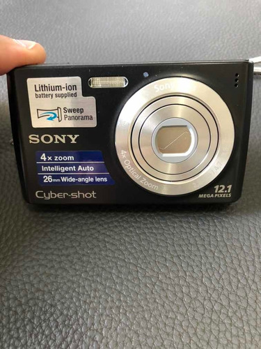 Câmera Sony Cyber Shot 12.1 Mp Dsc W510