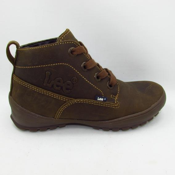 Botas Lee Footwear 1030 Dn Crazy Cafe Piel Vacuno