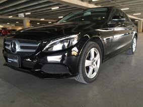 Mercedes-benz Clase C180 Cgi Aut. 2018 Negro
