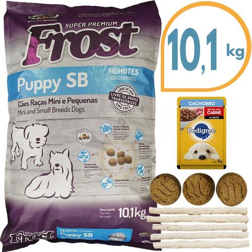 Comida Perro Cachorro Frost Sb Raza Pequeña 8,5 Kg + Regalo