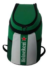 Mochila Térmica Para Latas Ou Barril Viagem Heineken