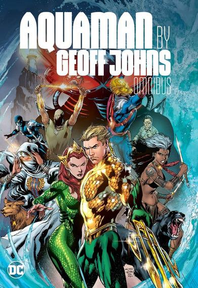 Aquaman By Geoff Johns Omnibus - Hq Importado Em Inglês Novo