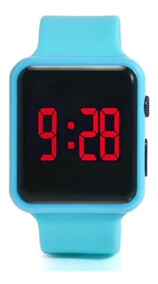 Relógio De Pulso Com Display Led