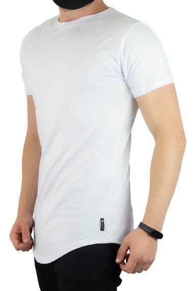 Kit 3 Un Camiseta Oversized Swag Longline Alongada C35
