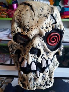 Mascara Calavera De Terror Látex