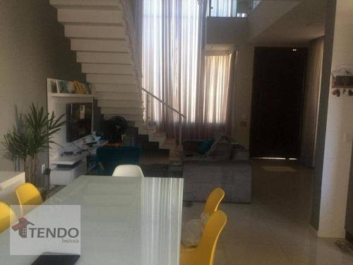 Imagem 1 de 21 de Imob04 - Casa Com 3 Dormitórios À Venda, 200 M² Por R$ 830.000 - Condomínio Residencial Jardim - Sorocaba/sp - Ca0787