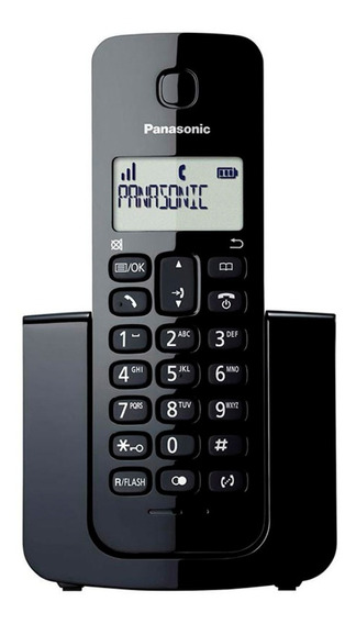 Teléfono Inalámbrico Panasonic Kx-tgb110 Negro Sistema Dect