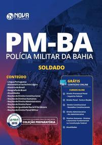 Apostila Preparatória Pm-ba 2019 - Soldado Da Polícia