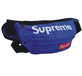 Supremo Oxford Lona Cintura Bolso Riñonera... (blue)