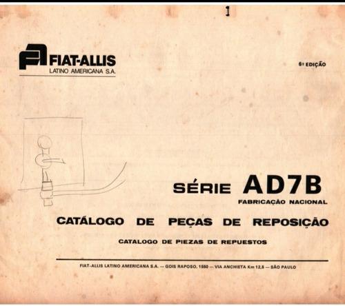 Catálogo De Peças Do Trator Esteira Ad7b
