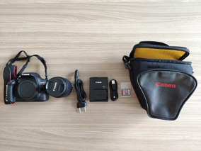 Câmera Digital Canon Eos Rebel T6 - Kit 18-55 + Brindes