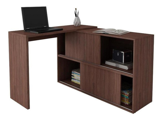 Mueble Escritorio Mesa Para Pc Repisas Bc 44-164