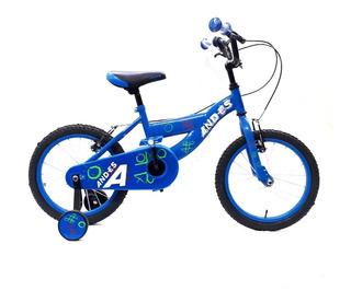 Bicicleta And-es 2020 Bmx Rodado 16 Niño Niña