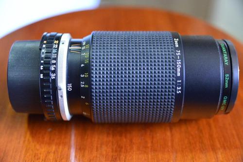 Lente Nikon 75-150mm F/3.5 Zoom Série E