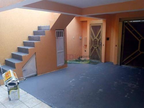 Imagem 1 de 5 de Sobrado Com 3 Dormitórios À Venda Por R$ 480.000 - Jardim Varan - Suzano/sp - So1835