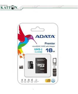 Memoria Micro Sd Adata 16gb La Plata