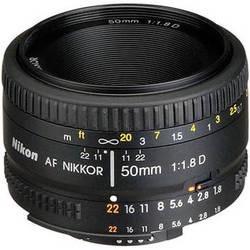 Lente Fx Nikkor Nikon 50mm F/1.8d Af