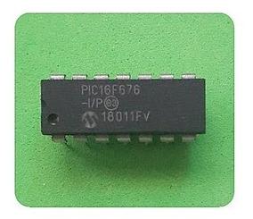 Microcontrolador Pic16f676 Pic16f676 # Kit C/ 10 Unidades