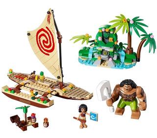 Figura De Princesa Moana Lego Disney 41150 Viaje Por Océano
