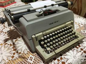 Maquina De Escrever Olivette Em Árabe