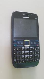 Celular Nokia E 63 Qwerty, 3g Usado Os 0010