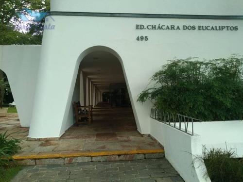 Imagem 1 de 21 de Apartamento Para Alugar, 130 M² Por R$ 3.000,00/mês - Jardim Marajoara - São Paulo/sp - Ap1168