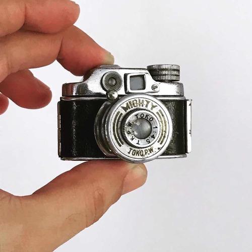 Rara Mini Câmera Fotográfica Toko P.w Mighty Japão Anos 40