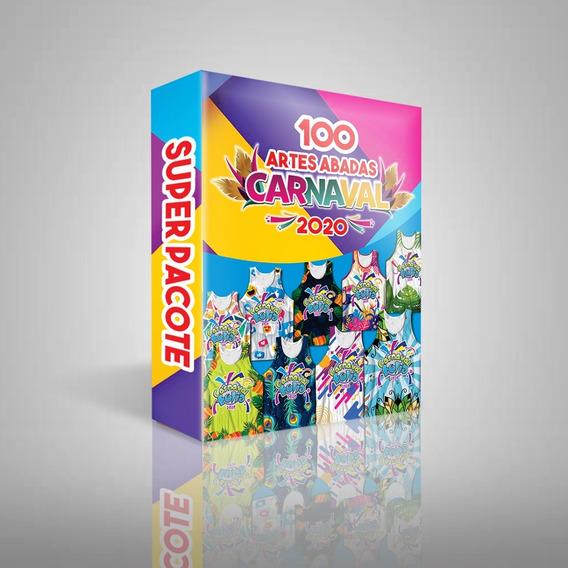 Pacote Com 100 Estampas De Abadas Para O Carnaval 2020
