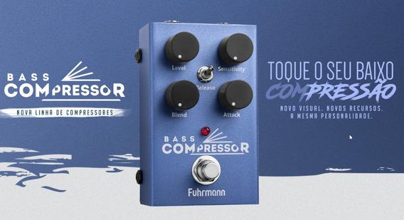 Pedal Fuhrmann Bass Compressor Contrabaixo Lançamento 2019