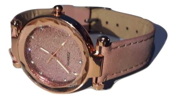 Relógio Feminino Barato Quartz Pulseira Em Couro