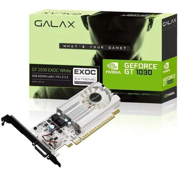 Placa De Vídeo Nvidia Galax Gt 1030 2 Gb Gddr5