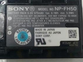 Bateria Sony Np Fh 50 Original Primeira Linha Avulsa
