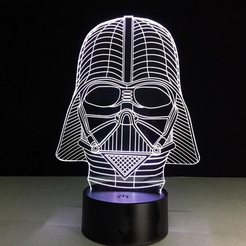 Lámpara Led Star Wars Darth Vader - Multicolor