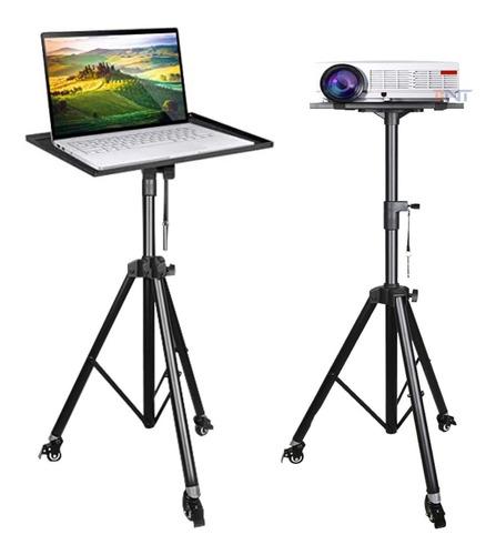 Soporte Tripie Proyector Profesional Laptop Ruedas Ajustable