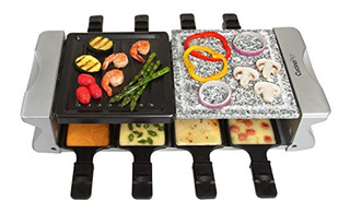 Cucinapro Dual Cheese Raclette Table Grill