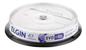 Mídias Elgin 10dvds Umedisk 8.5gb - P/ Xbox