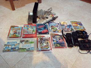 Nintendo Wii Con 10 Juegos