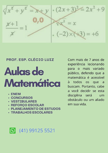 Imagem 1 de 1 de Aprenda Matemática De Uma Vez Por Todas.