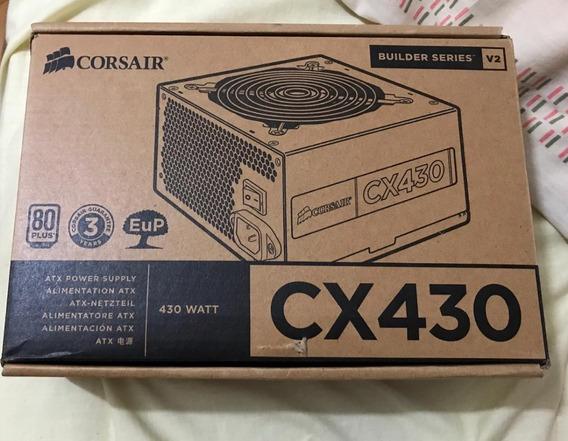 Fonte Corsair Atx 430w Cx430 80 Plus