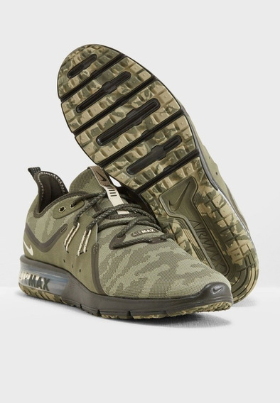 Zapatillas Nike Sequent 3 Camufladas Talle 9us 41.5arg