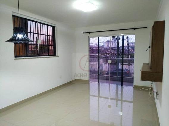 Casa Com 3 Dormitórios À Venda, 133 M² Por R$ 579.000,00 - Marapé - Santos/sp - Ca1823