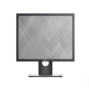 Monitor Professional Led Ips 19 Quadrado Dell P1917s Preto