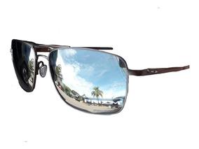 Oakley Gauge 6 Oo6038 Polarized Pewter Prizm Titanium 6038